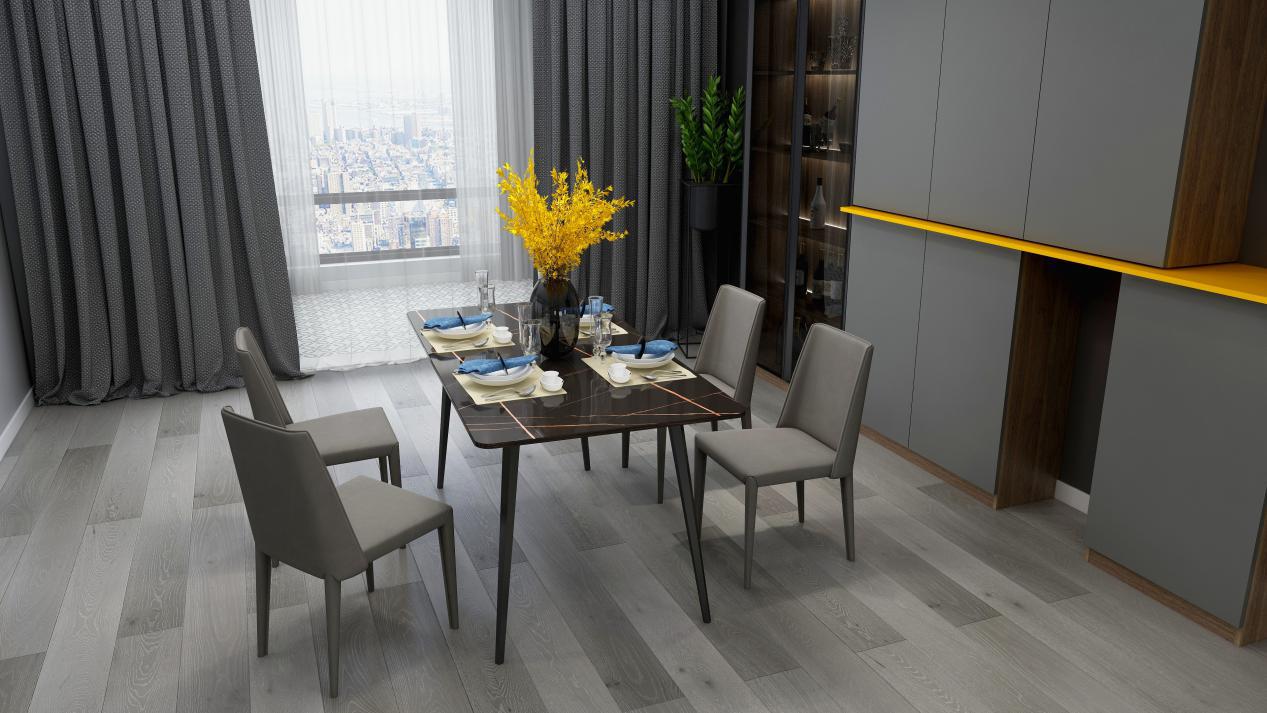 卡诺亚维克托系列餐桌椅